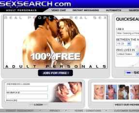 Avis sur SexSearch